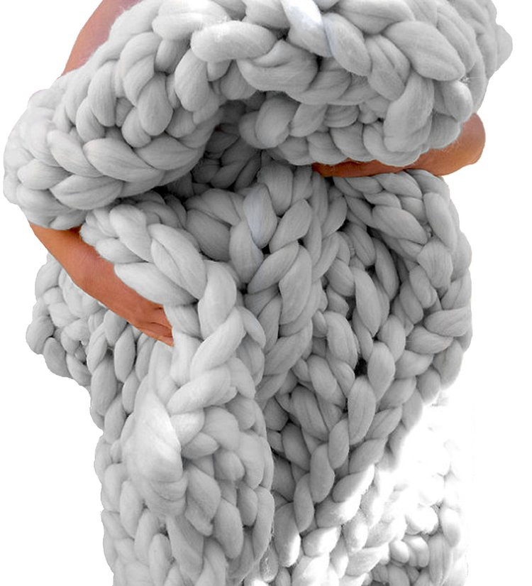 Super Chunky Merino Wool Inspirational Super Chunky Knit Merino Blanket Queen Size 60 X by Of Innovative 46 Images Super Chunky Merino Wool
