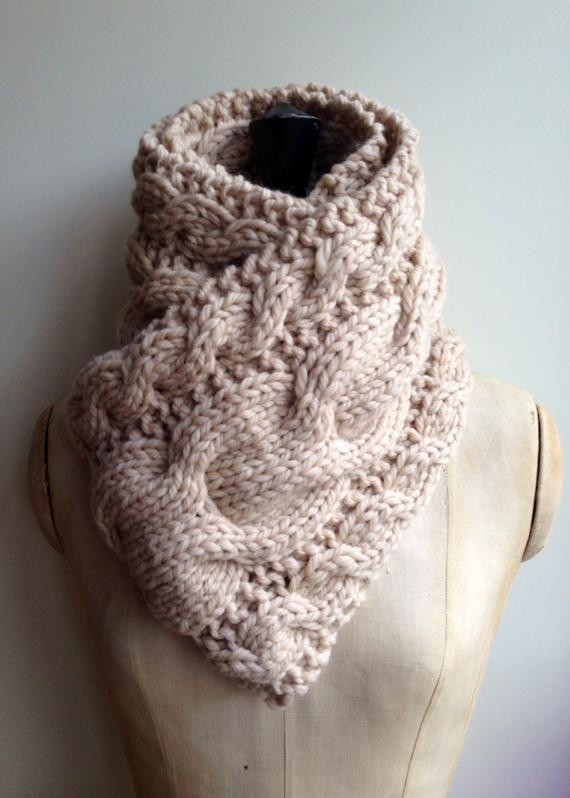 Super Chunky Merino Wool Luxury Super Chunky Hand Knitted Merino Wool Cable Scarf Vintage Of Innovative 46 Images Super Chunky Merino Wool