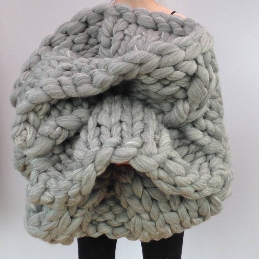 Super Chunky Wool Awesome Giant Hand Knitted Super Chunky Blanket by Wool Couture Of Fresh 44 Images Super Chunky Wool