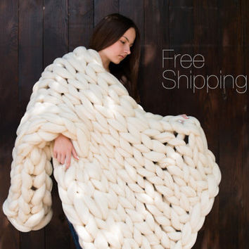 Super Chunky Yarn Blanket Lovely Best Chunky Blanket Yarn Products On Wanelo Of Superb 48 Models Super Chunky Yarn Blanket