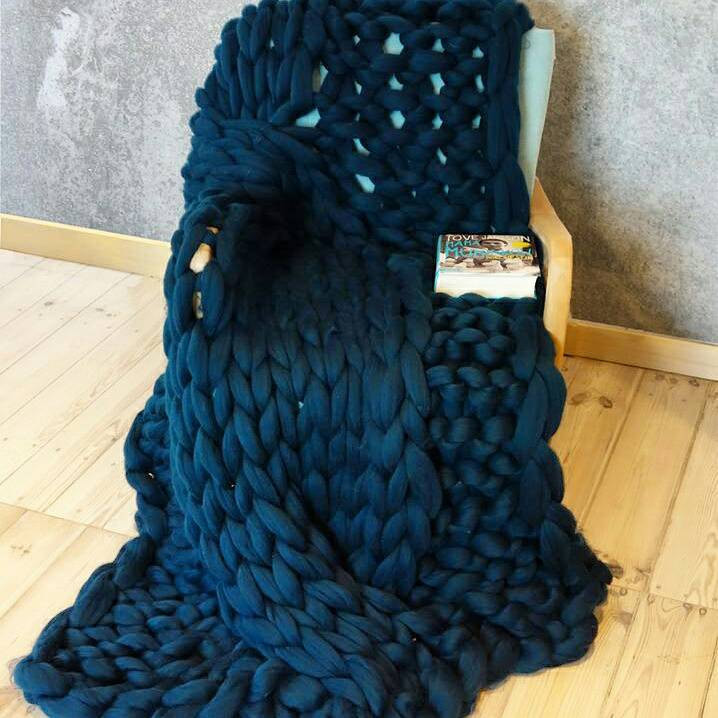 Super Chunky Yarn Blanket New Navy Blue Cable Knit Throw Of Superb 48 Models Super Chunky Yarn Blanket