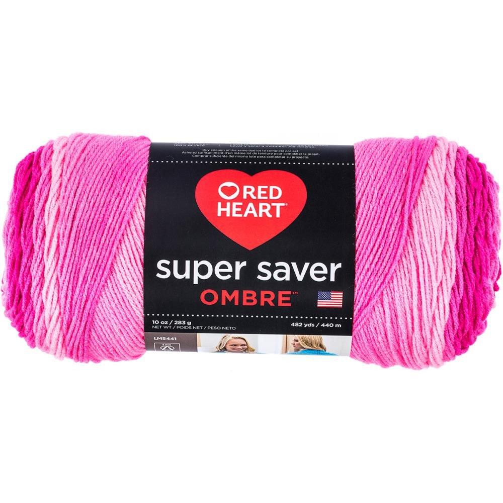 Super Saver Ombre Beautiful Red Heart Super Saver Ombre Yarn Jazzy Pink Color Gra Nt Of Amazing 37 Images Super Saver Ombre