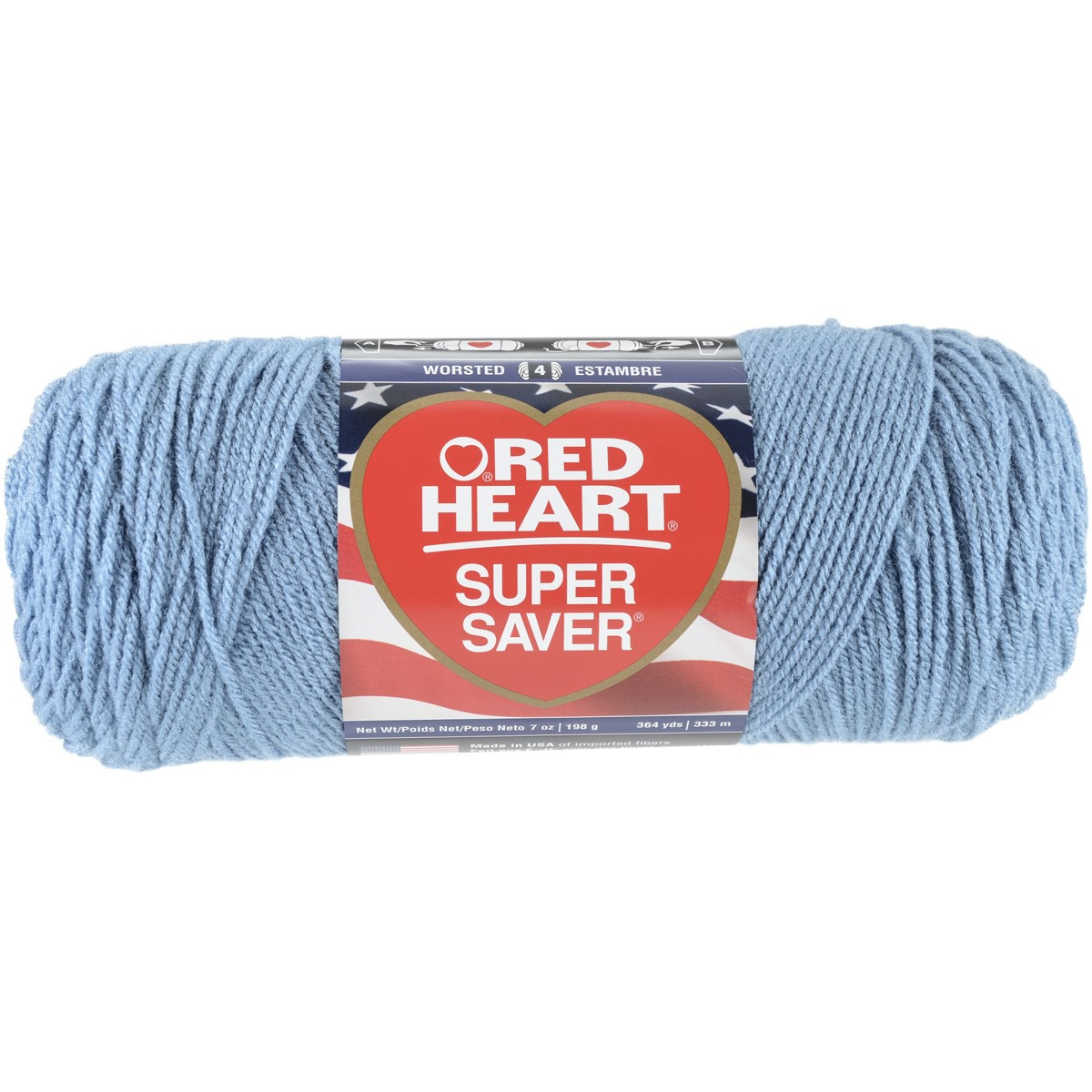 Red Heart Super Saver Yarn Country Blue