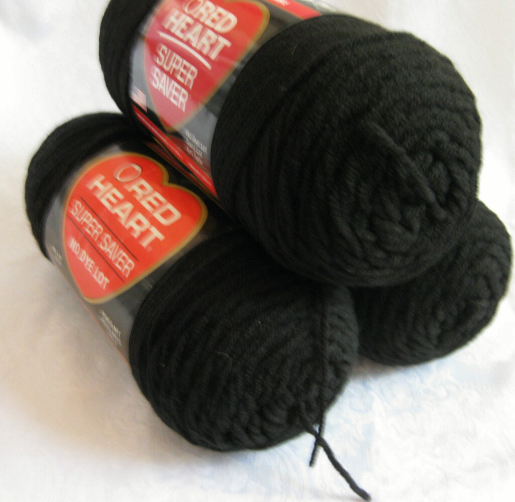 Super Saver Yarn Lovely Black Red Heart Super Saver Yarn Worsted Weight by Crochetgal Of Great 44 Models Super Saver Yarn