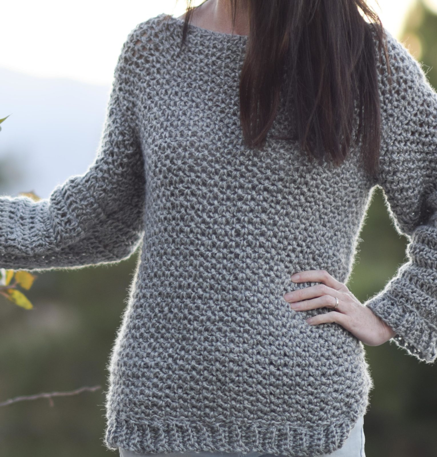 Sweater Crochet Patterns Elegant How to Make An Easy Crocheted Sweater Knit Like – Mama Of Amazing 49 Pictures Sweater Crochet Patterns