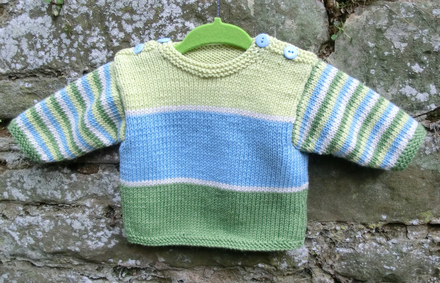 Sweater Knitting Patterns Awesome Stripy Baby Sweater Knitting Pattern Pdf Of Amazing 42 Models Sweater Knitting Patterns