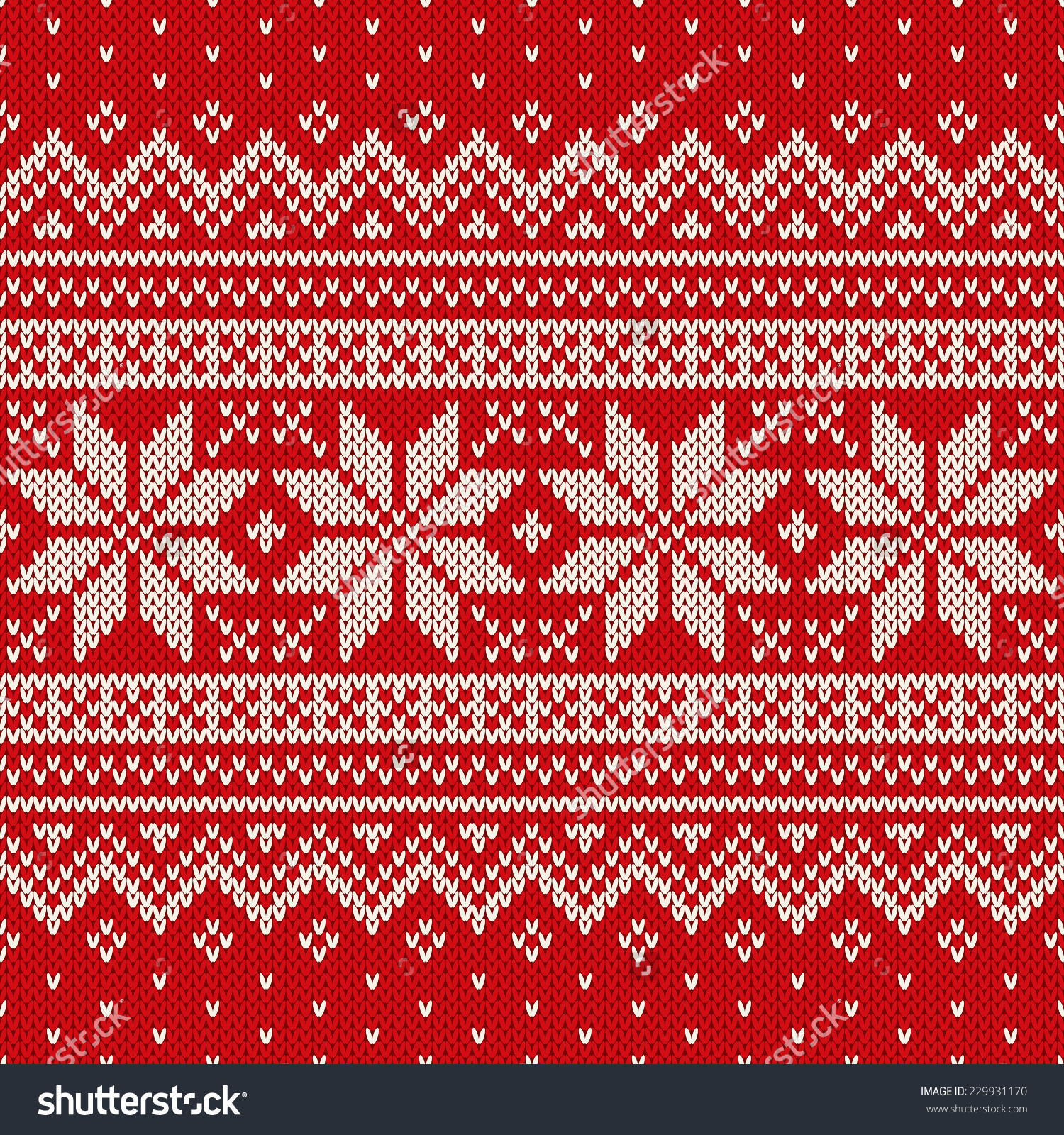 Christmas Sweater Pattern Vectors – Happy Holidays