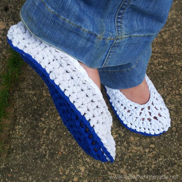 T Shirt Yarn Crochet New T Shirt Yarn Crochet Slippers Look at What I Made Of Innovative 42 Photos T Shirt Yarn Crochet
