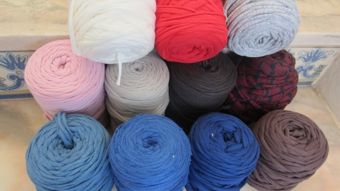 T Shirt Yarn for Sale Beautiful Fabric Yarn Recycled T Shirt Yarn 300g Many Colours for Of Perfect 40 Models T Shirt Yarn for Sale