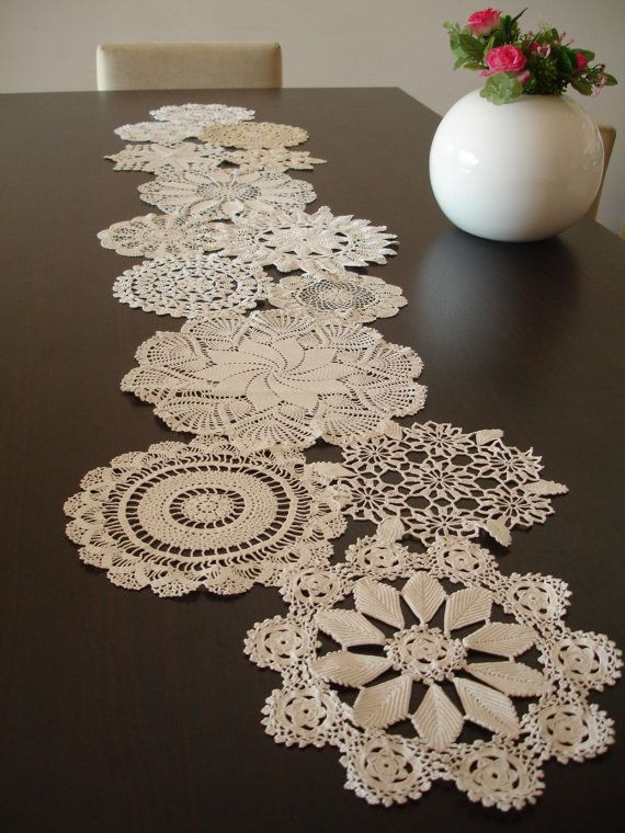 Table Doilies Awesome Vintage Doily Runner Wedding Table Decoration by Of Attractive 44 Pictures Table Doilies