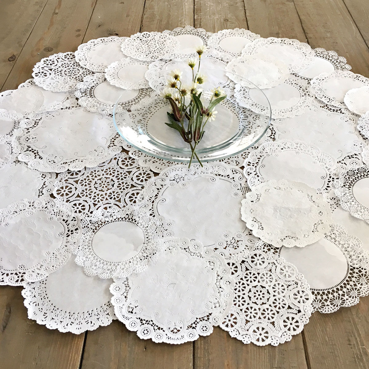 Table Doilies Beautiful Round Doily Centerpiece Shabby Rustic Paper Doilies Diy Of Attractive 44 Pictures Table Doilies