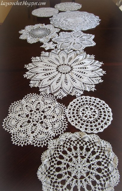 Table Doilies Best Of Lacy Crochet Doily Mix Table Runner Of Attractive 44 Pictures Table Doilies