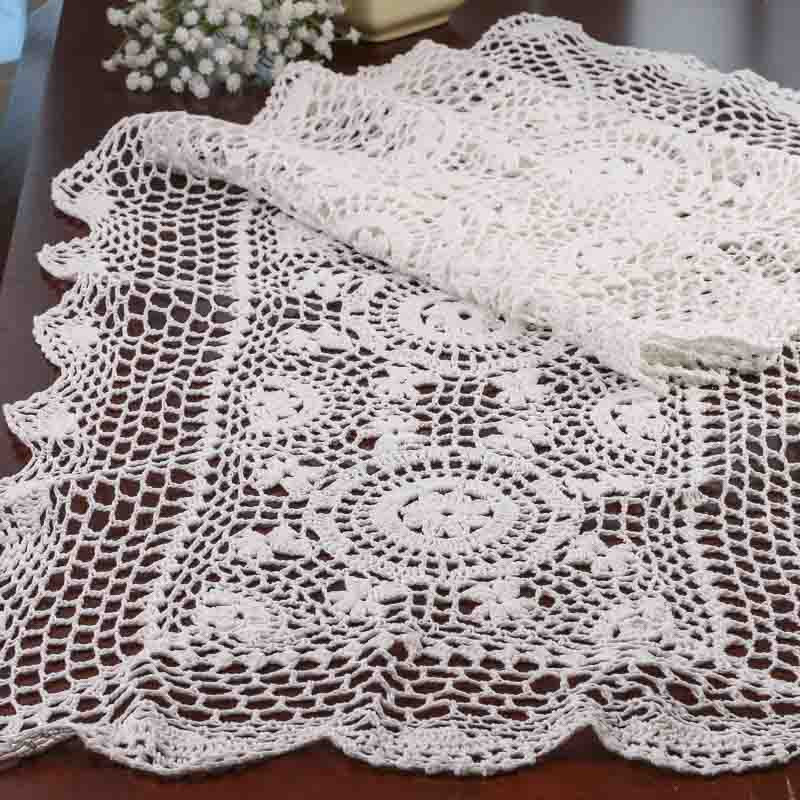 Table Doilies Elegant White Crocheted Doily Table Runner Crochet and Lace Of Attractive 44 Pictures Table Doilies