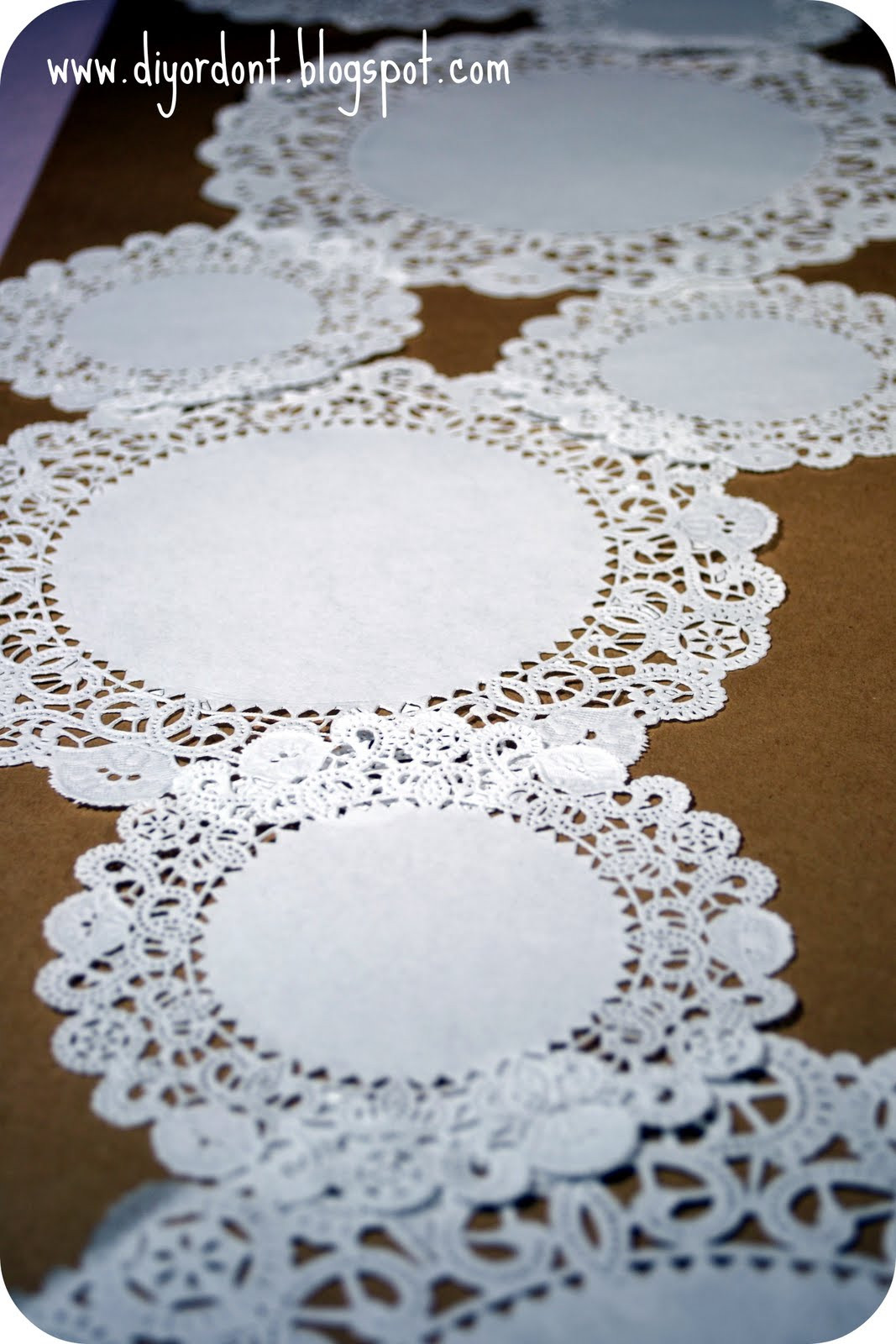 Table Doilies Lovely Diy or Don T Quickie Tutorial Doily Table Runner Of Attractive 44 Pictures Table Doilies