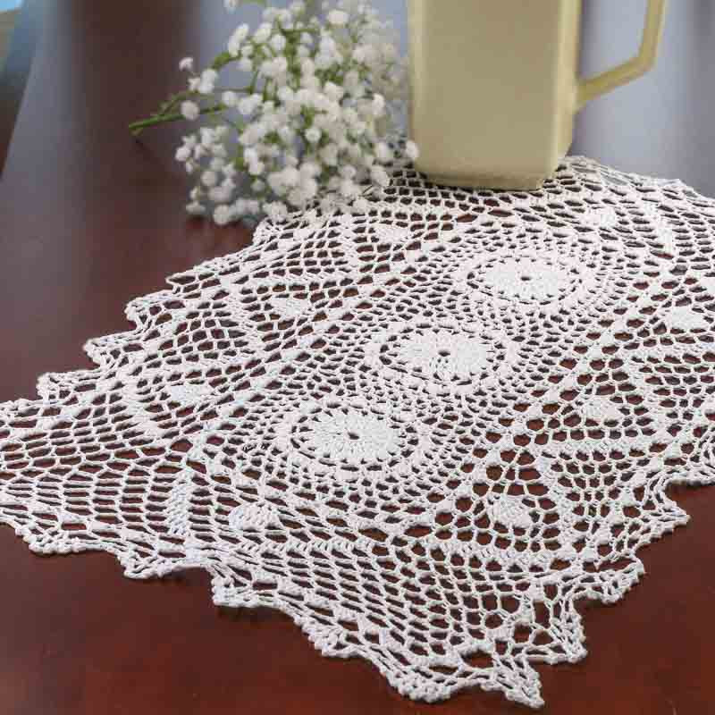 Table Doilies Lovely White Crocheted Doily Table Runner Crochet and Lace Of Attractive 44 Pictures Table Doilies
