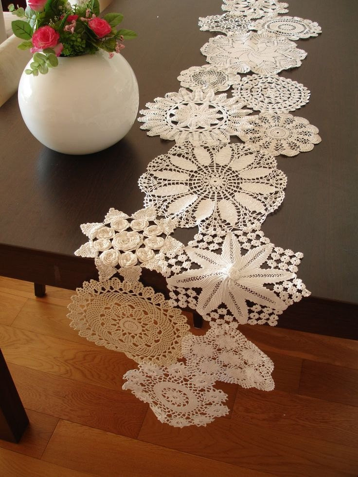 Table Doilies Luxury Vintage Doily Runner Wedding Table Decoration with Of Attractive 44 Pictures Table Doilies