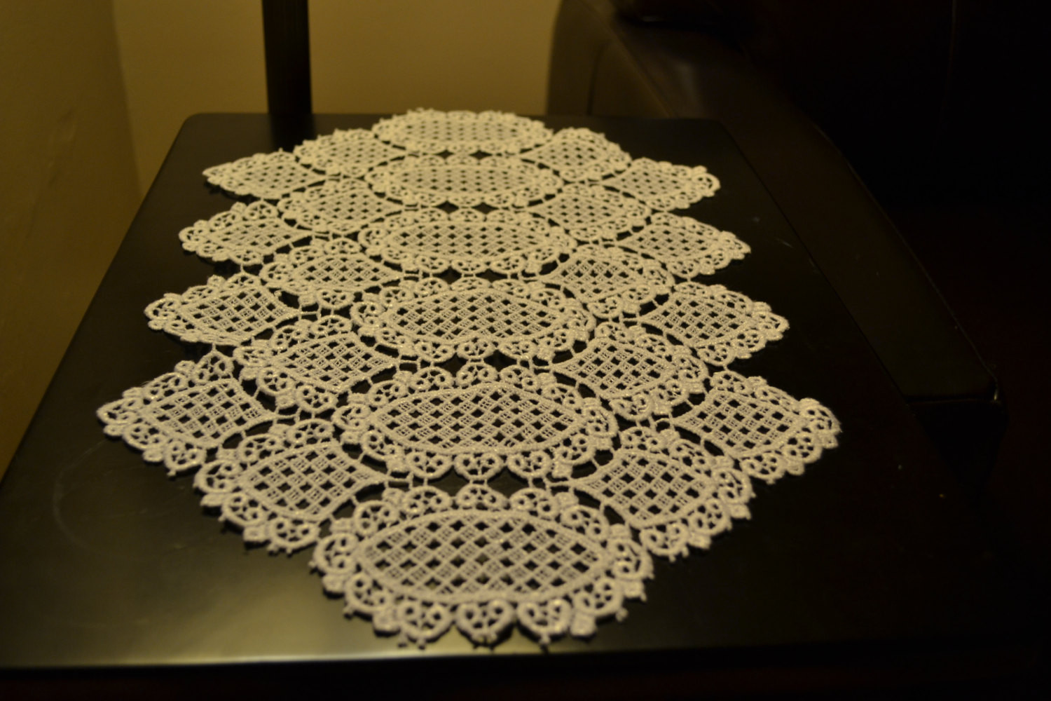 Table Doilies New Portuguese Lace Table Runner Doily by Delightfuldiscord Of Attractive 44 Pictures Table Doilies