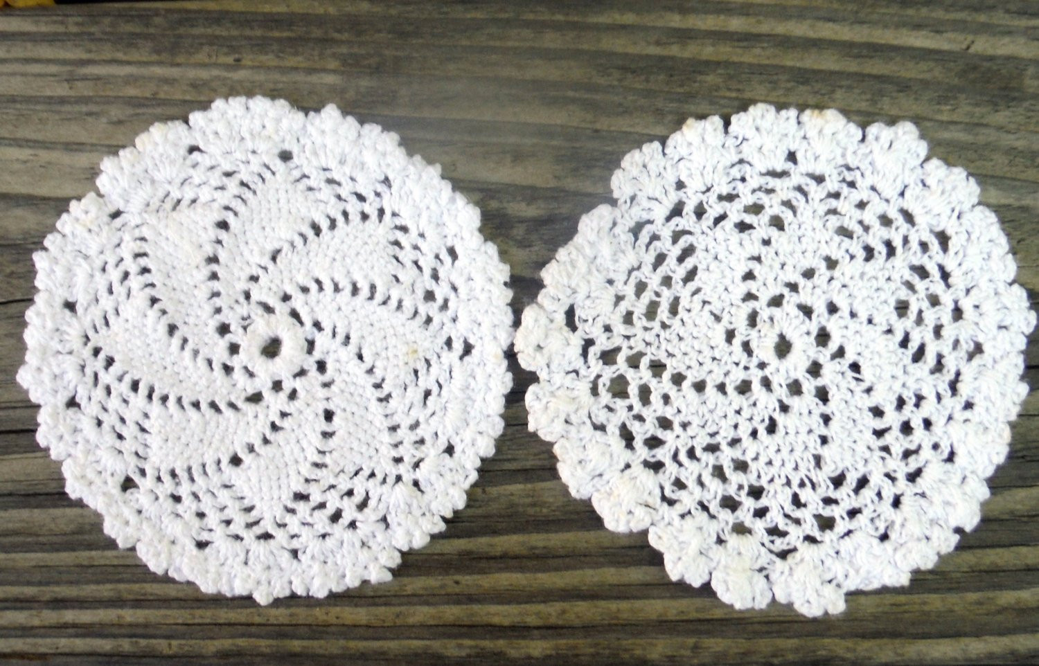 Table Doilies Unique 3 White Crocheted Doilies Diy Doily Art Table Runner Of Attractive 44 Pictures Table Doilies