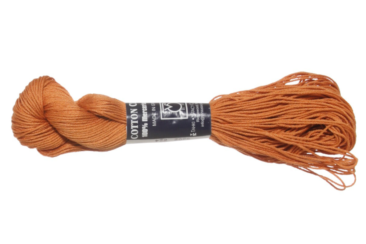 Tahki Cotton Classic Yarn 3302 New Pumpkin at Jimmy