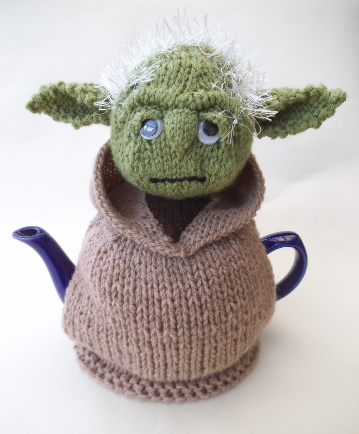 Starwars Yoda Tea Cosy Knitting Pattern