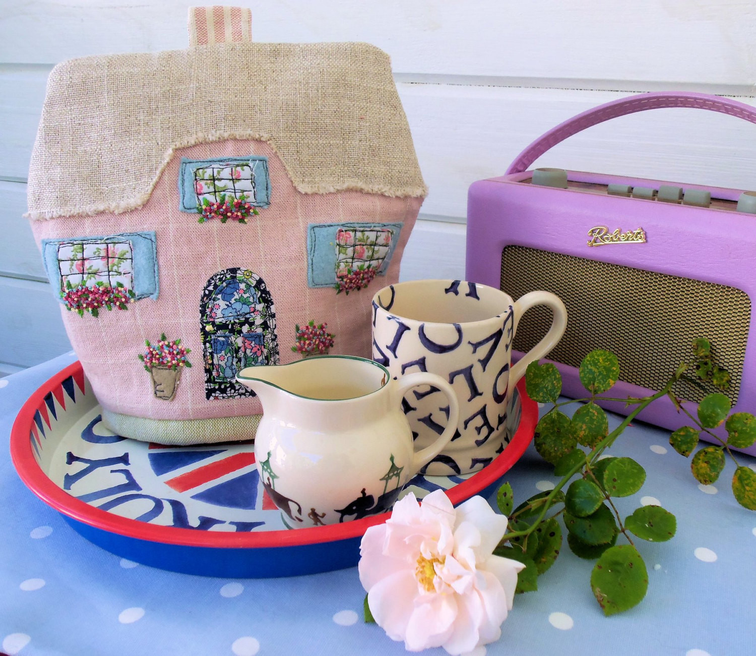 English Cottage Tea Cosy pattern