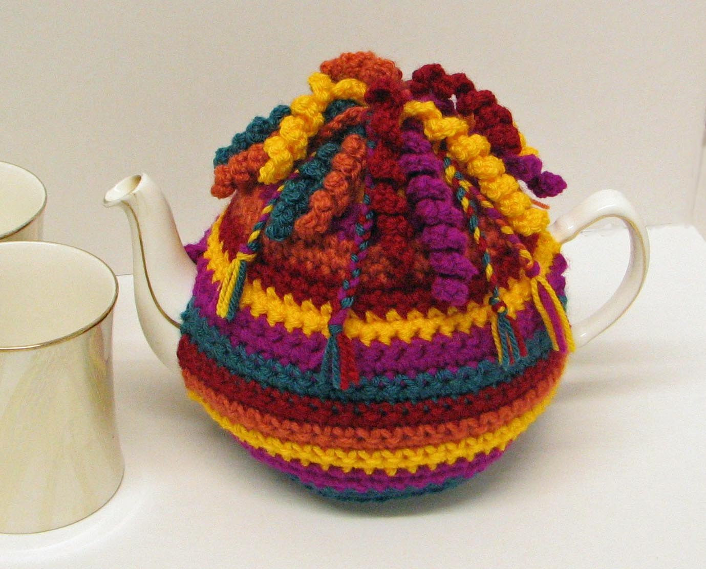 Tea Cozy Pattern Best Of Crochet Pattern for Tea Cosy Cozy Trimmed with Spirals and Of Awesome 46 Photos Tea Cozy Pattern