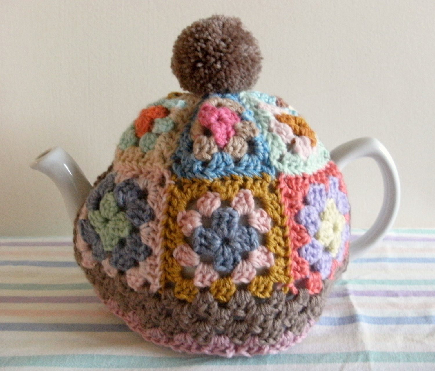 Tea Cozy Pattern Elegant Granny Square Tea Cosy Pattern Tutorial Pdf File Instant Of Awesome 46 Photos Tea Cozy Pattern