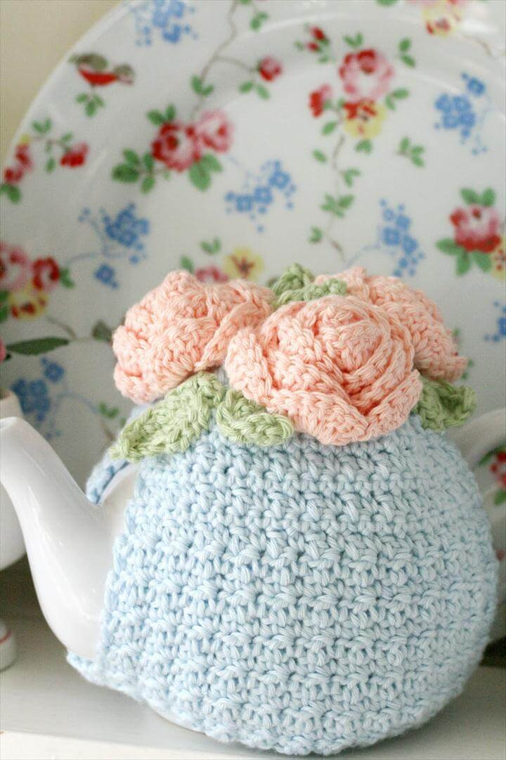99 Pretty & Marvelous Crochet Tea Cozy Pattern