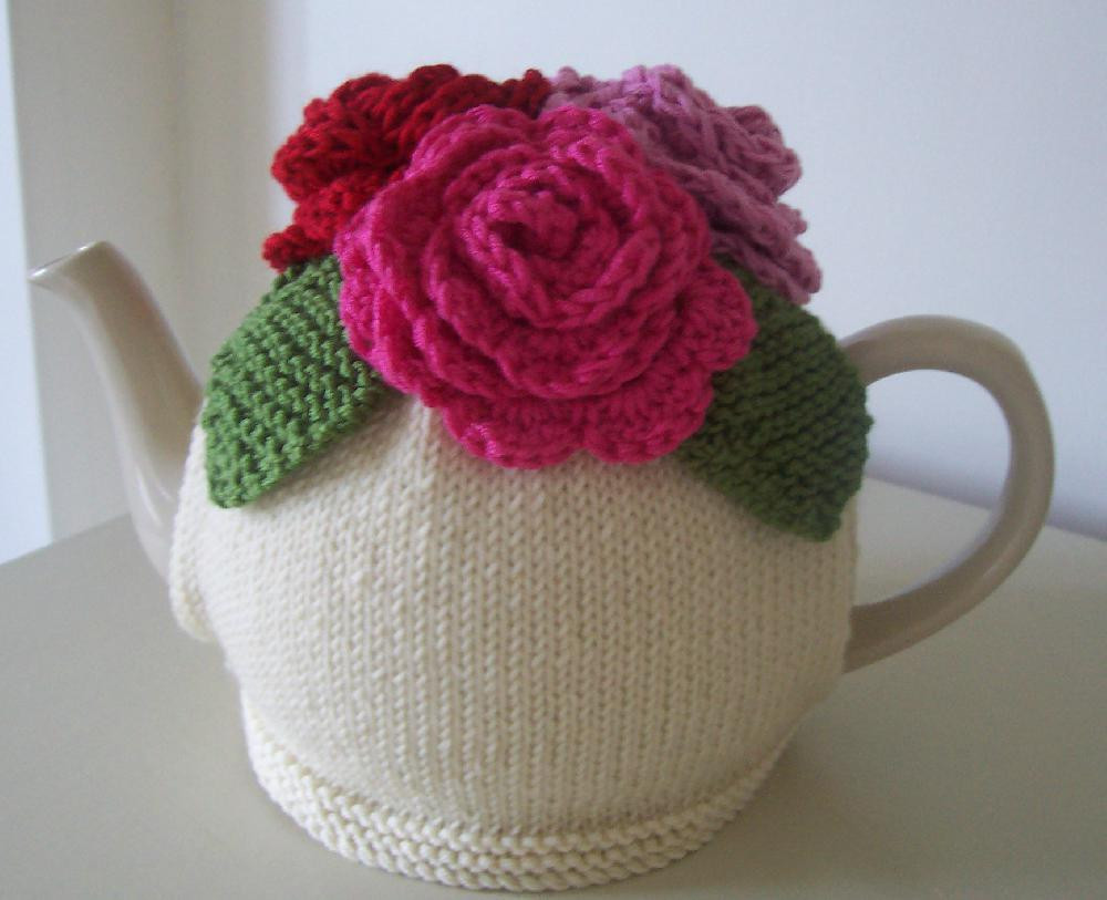 Tea Cozy Pattern Lovely Summer Roses Tea Cosy Knitting Crochet Pattern by Buzybee Of Awesome 46 Photos Tea Cozy Pattern