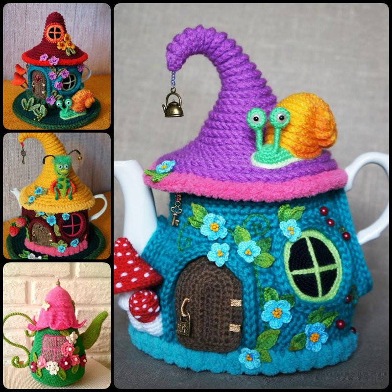 Tea Cozy Pattern New 20 Handmade Tea Cozy with Patterns Of Awesome 46 Photos Tea Cozy Pattern