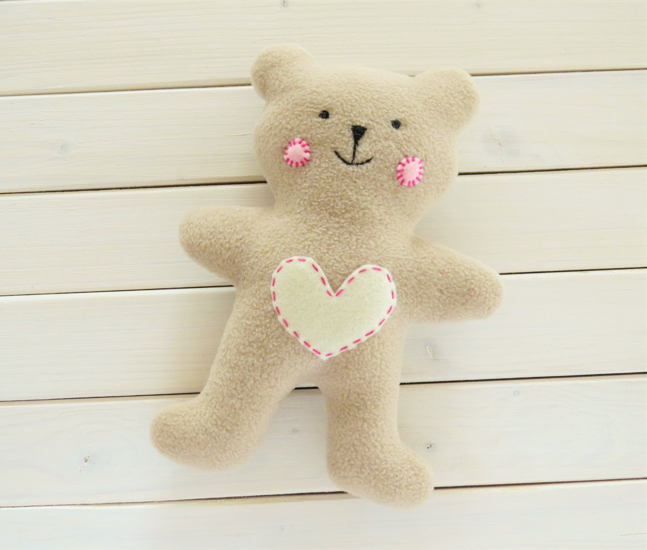 Teddy Bear Pattern Awesome How to Sew Quickly A Cute Little soft Baby Teddy Bear Of Incredible 44 Photos Teddy Bear Pattern