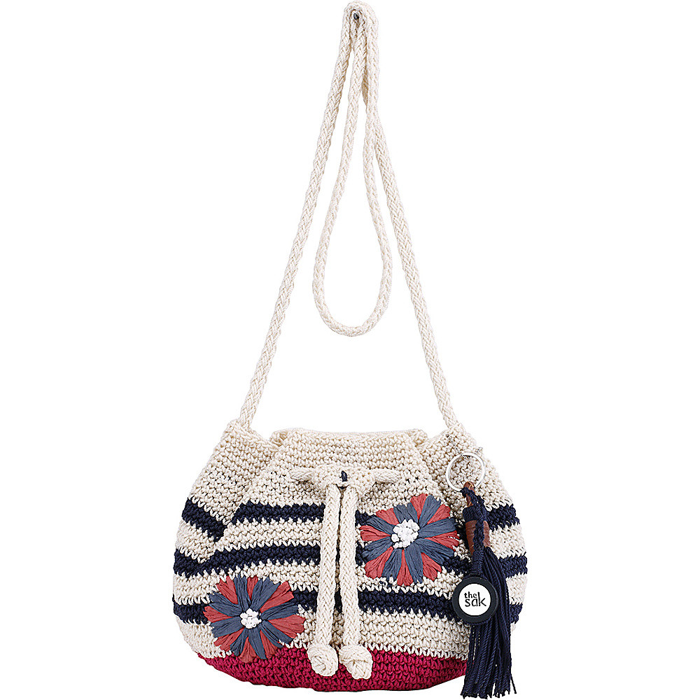 The Sak Crochet Awesome the Sak Moraga Crochet Drawstring Crossbody 6 Colors Cross Of The Sak Crochet Awesome the Sak Black Crochet Cross Body Shoulder Bag Purse Handbag