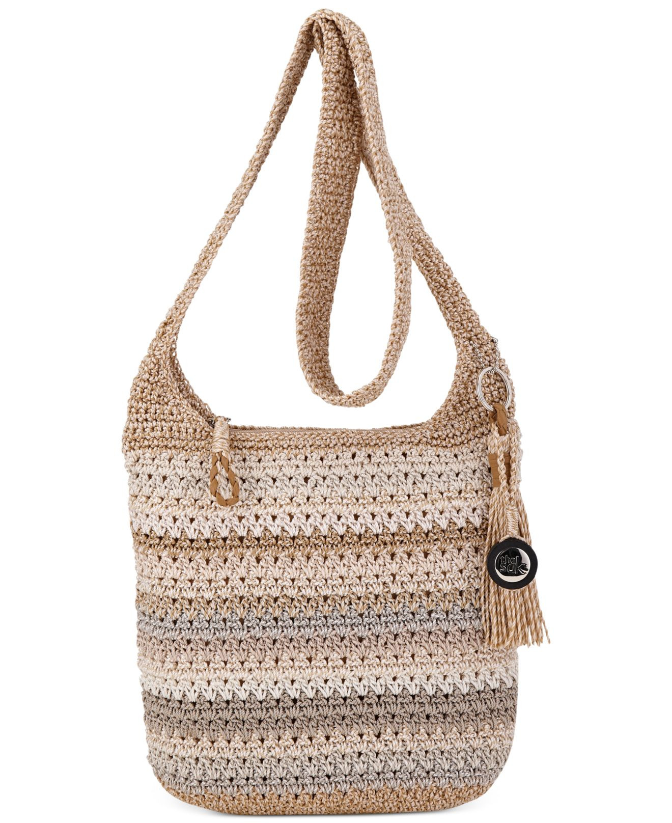 The Sak Crochet Beautiful Lyst the Sak Casual Classics Crochet Crossbody In Natural Of The Sak Crochet Awesome the Sak Black Crochet Cross Body Shoulder Bag Purse Handbag
