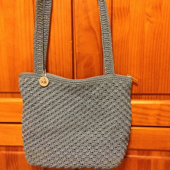 The Sak Crochet Beautiful Off the Sak Handbags the Sak Blue Crocheted Handbag Of The Sak Crochet Awesome the Sak Black Crochet Cross Body Shoulder Bag Purse Handbag