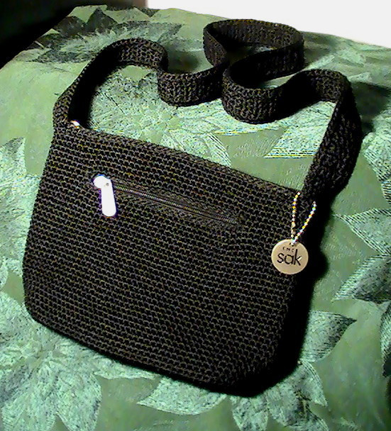 The Sak Crochet Elegant the Sak Black Crochet Handbag Shoulder Bag Purse Of The Sak Crochet Awesome the Sak Black Crochet Cross Body Shoulder Bag Purse Handbag