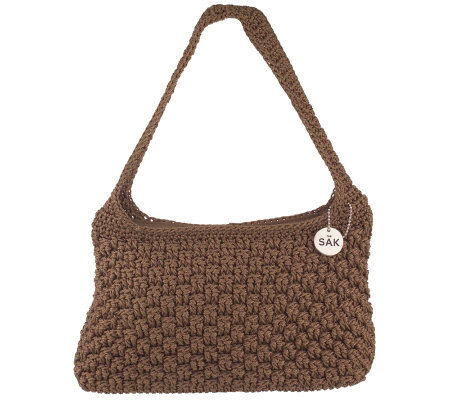 The Sak Crochet Elegant the Sak Rope Weave Crochet Shoulder Bag Page 1 — Qvc Of The Sak Crochet Awesome the Sak Black Crochet Cross Body Shoulder Bag Purse Handbag