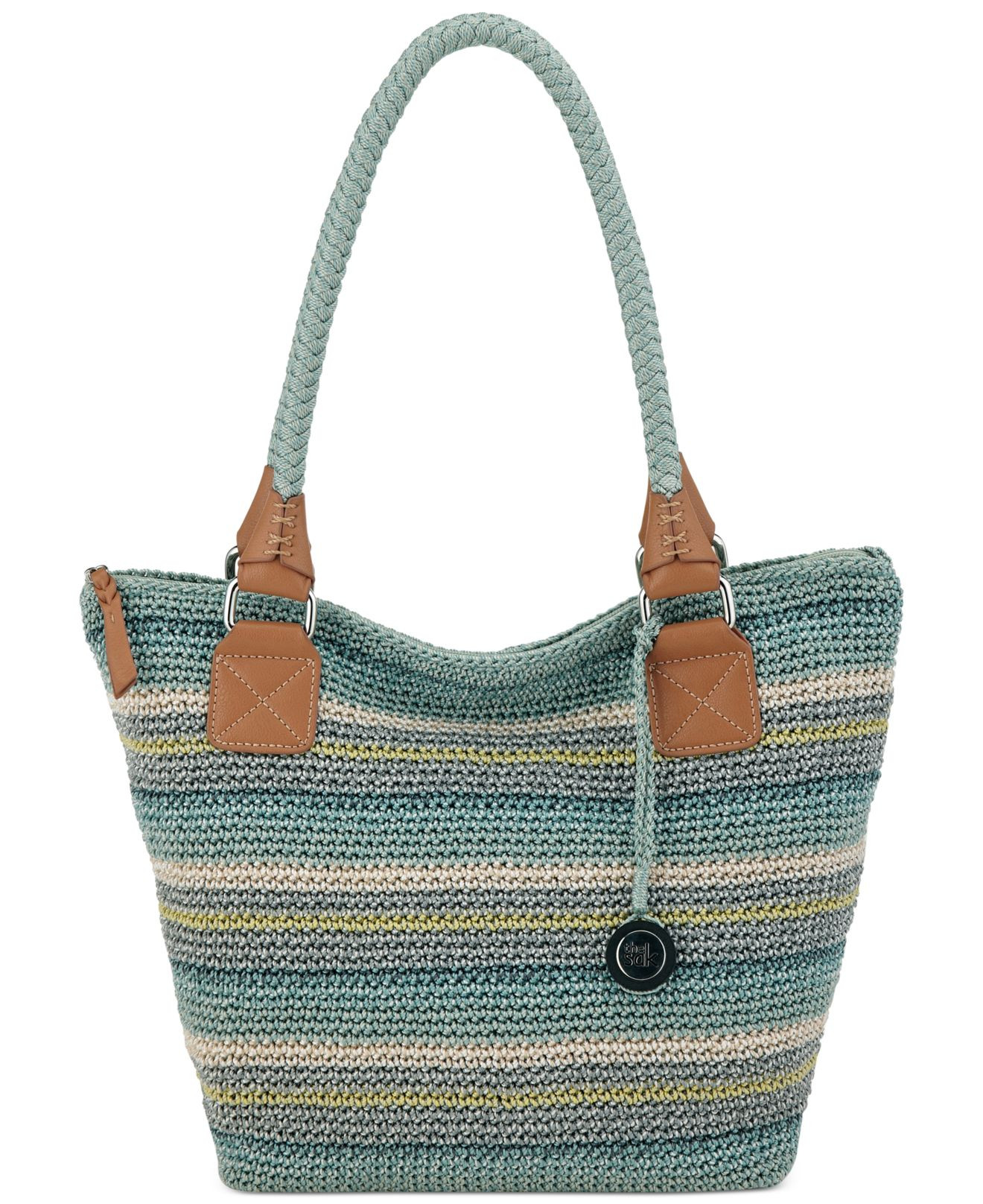The Sak Crochet Lovely the Sak Cambria Crochet tote In Blue Of The Sak Crochet Awesome the Sak Black Crochet Cross Body Shoulder Bag Purse Handbag