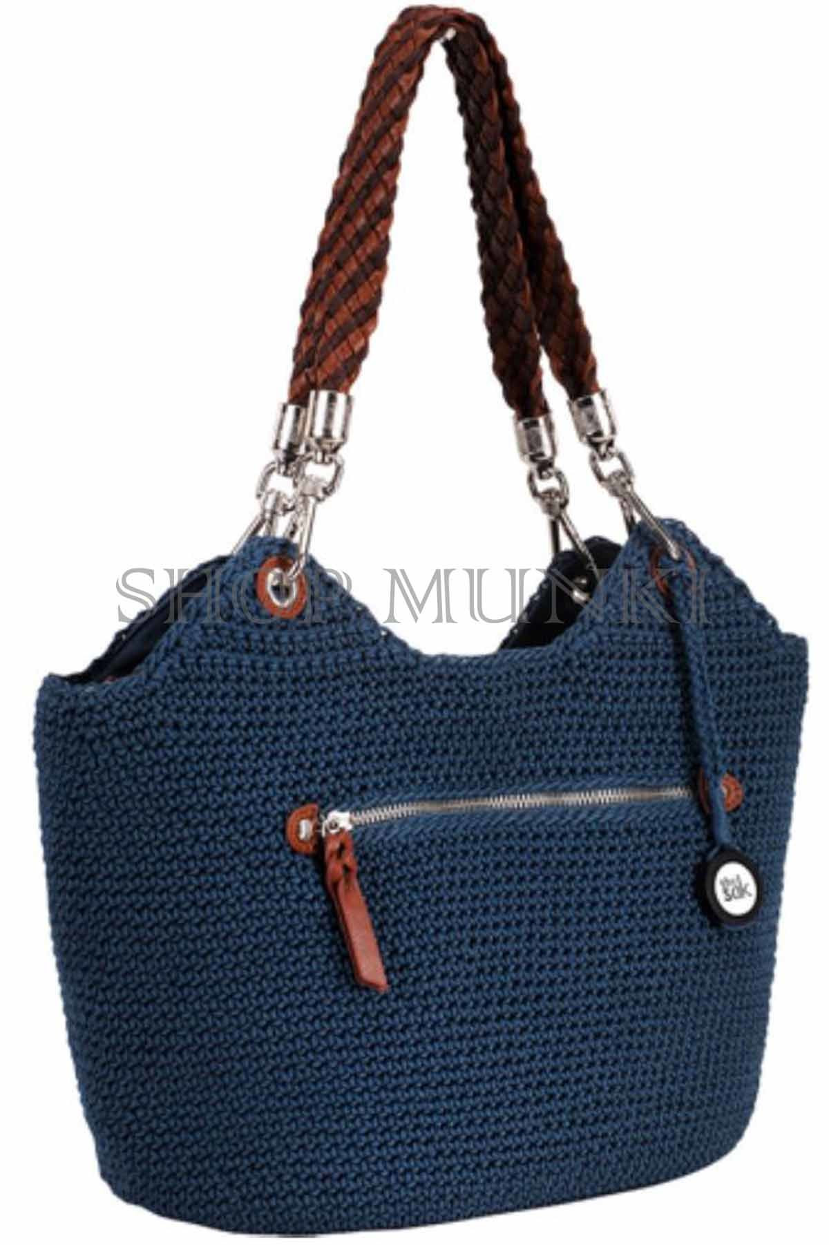 The Sak Crochet Lovely the Sak Indio Crochet Satchel Hand Bag Purse Of The Sak Crochet Awesome the Sak Black Crochet Cross Body Shoulder Bag Purse Handbag
