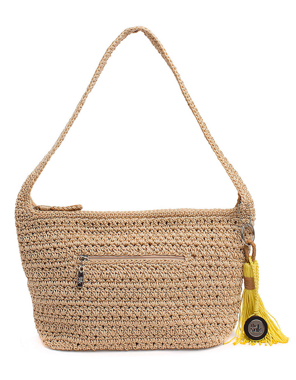 The Sak Crochet Luxury the Sak Casual Classics Crochet Hobo Bag In Beige Bamboo Of The Sak Crochet Awesome the Sak Black Crochet Cross Body Shoulder Bag Purse Handbag