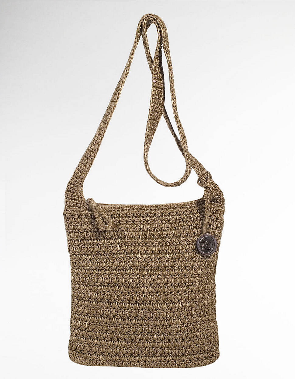 The Sak Crochet New Lyst the Sak Casual Classics Crochet Crossbody Bag In Brown Of The Sak Crochet Awesome the Sak Black Crochet Cross Body Shoulder Bag Purse Handbag