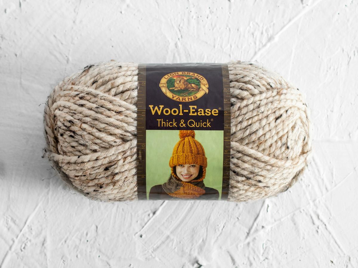 Lion Brand Wool Ease Thick and Quick Yarn