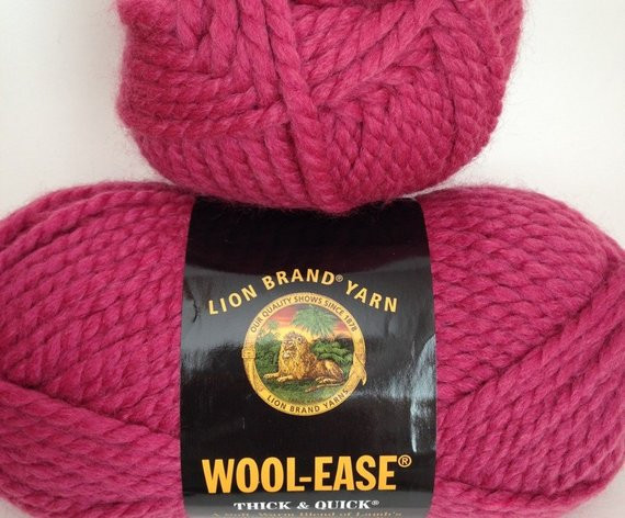 Thick and Quick Yarn New Lion Brand Wool Ease Thick & Quick Yarn Color Raspberry Of Amazing 45 Images Thick and Quick Yarn