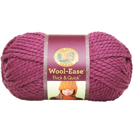 Thick and Quick Yarn New Wool Ease Thick & Quick Yarn Fig Walmart Of Amazing 45 Images Thick and Quick Yarn