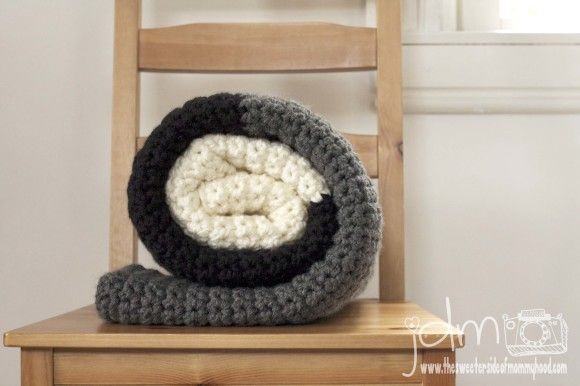Thick Crochet Blanket Awesome Chunky Crochet Blanket Tutorial Simple Pattern Thick Of Delightful 42 Pics Thick Crochet Blanket