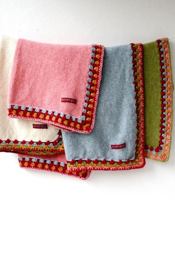 Thick Crochet Blanket Awesome Thick Knitted Blanket with Crochet Edge Of Delightful 42 Pics Thick Crochet Blanket