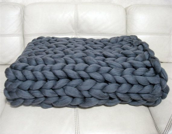 Thick Crochet Blanket Best Of Big Knit Chunky Blanket Of Delightful 42 Pics Thick Crochet Blanket