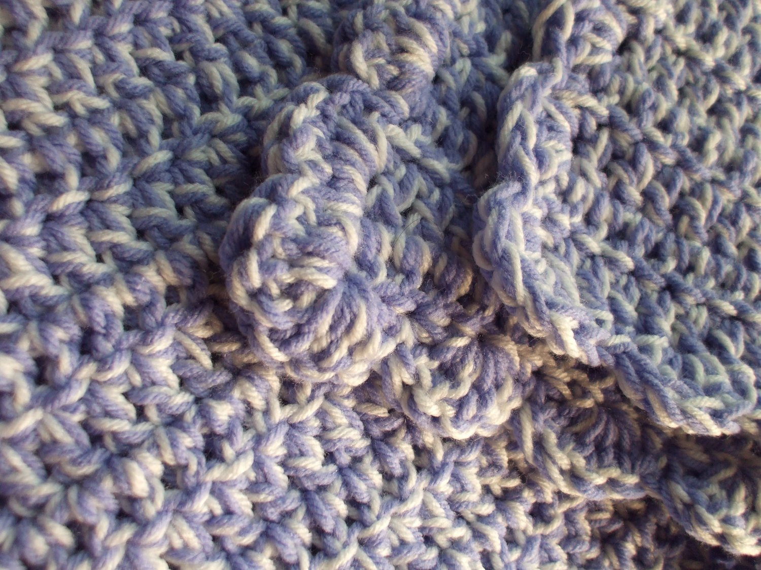 Thick Crochet Blanket Lovely Crochet Chunky Thick Baby Blanket Afghan soft by Madebythebest Of Delightful 42 Pics Thick Crochet Blanket