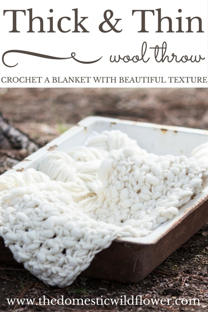 Thick Crochet Blanket Luxury How to Crochet A Thick and Thin Wool Throw Blanket the Of Delightful 42 Pics Thick Crochet Blanket
