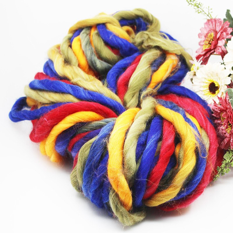 Thick Wool Yarn Awesome Thick Wool Yarn Rainbow Dyed Coarse Wool Iceland Hand Of Wonderful 49 Pictures Thick Wool Yarn