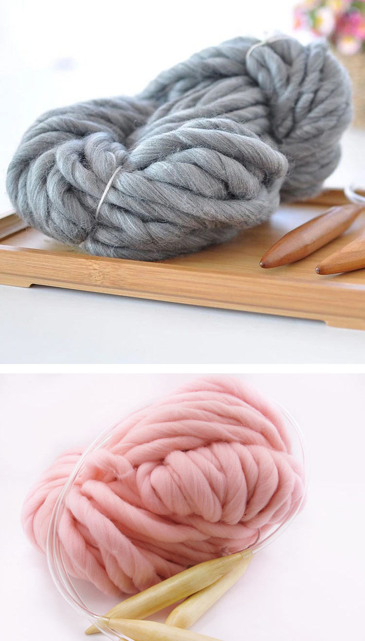 Thick Wool Yarn Fresh 250g 16 Colors Super Thick Cotton Knitting Wool Yarn Diy Of Wonderful 49 Pictures Thick Wool Yarn